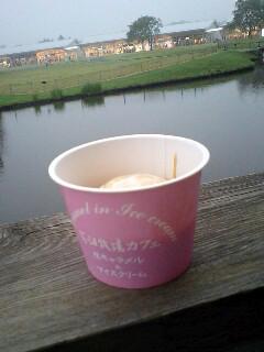 花畑牧場 生キャラメルアイスクリーム.JPG