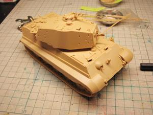 1/48 ドイツ重戦車 キングタイガー ヘンシェル砲塔