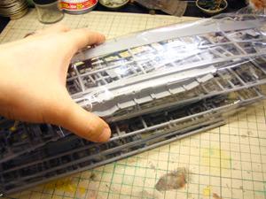 日本航空母艦 赤城 三段甲板