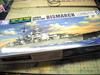 1/700 ドイツ海軍戦艦 ビスマルク