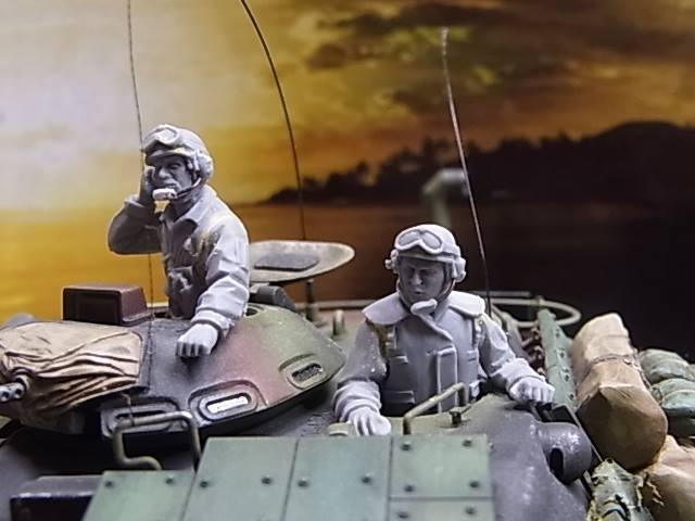 GM35011 1/35 アメリカ軍戦車兵セット1985〜1995