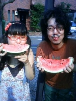 ぶー子とスイカの夏休み。