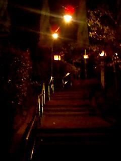 狭井神社への「くすりの道」