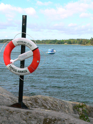 ヴァックスホルム島(voxholm)fromスウェーデン