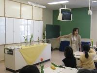 親子生け花教室