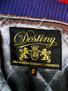 Destiny by WHITESVILLE DE11825 新作スタジャン