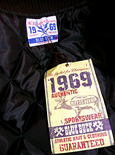 BLUE BUCK HS87ST-02 新作スタジャン