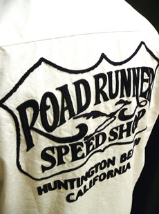 SUGAR CANE×Road Runner SC35010 新作デザインワークシャツ[ SPEED SHOP ]