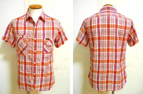 STUDIO DARTISAN(ステュディオダルチザン) 5377 サッカー地チェックワークシャツ