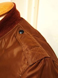 "BUZZ RICKSONS バズリクソンズ BR12262 BROWN L-2 ""PERSONAL EQUIPMENT LABORATORY."" TEST SAMPLE BROWN VERSION テストサンプル"