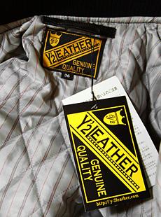 Y2 LEATHER(ワイツーレザー) SB-90 オールレザーファラオジャケット [ ステアハイド ]