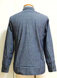 "SUGAR CANE × Mister Freedom(シュガーケン×ミスターフリーダム) SC25530 CHAMBRAY WORK SHIRTS ""MADE IN U.S.A."" シャンブレーワークシャツ"