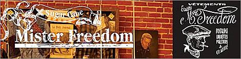 SUGAR CANE × Mister Freedom(シュガーケン×ミスターフリーダム)