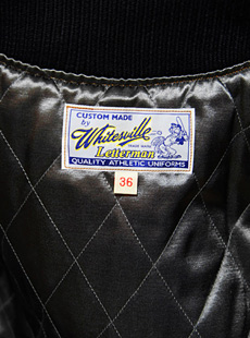 WhitesVille ホワイツビル WV12310-134 WOOL MELTON SET-IN AWARD JACKET フルデコレーションスタジャン [ Brighton Chiefs ]