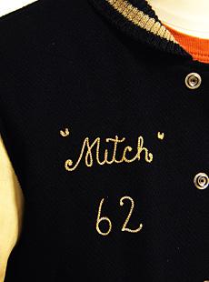 WhitesVille ホワイツビル WV12311-128 26oz. WOOL MELTON SET-IN AWARD JACKET AGED MODEL ウールメルトンセットインスタジャン [ Mitch 62 ]