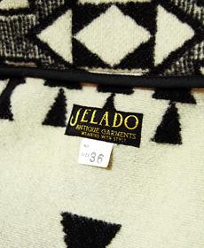 JELADO ジェラード [ ANTIQUE GARMENTS ] 5MB-1207 ネイティブブランケットジャケット [ SALEM COAT ]