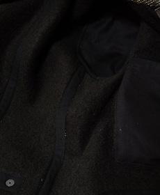 SUGAR CANE シュガーケン SC12641 BEACH CLOTH LEATHER SLEEVE SURCOAT ビーチクロスレザースリーブサーコート