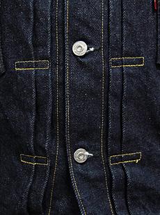SAMURAI JEANS サムライジーンズ 15周年記念スペシャルモデル S552XX25OZ-15TH 【 25oz. 】 ヘヴィーオンスデニムジャケット Gジャン [ 2ndタイプ ]