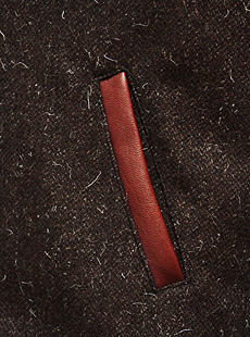 STYLE EYES スタイルアイズ SE12897 ZIP FRONT SPORT JACKET ウール×レザースポーツジャケット