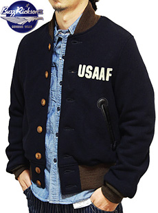 BUZZ RICKSONS バズリクソンズ BR12814 USAAF SPORTS JACKET ミリタリースポーツジャケット スタジャン