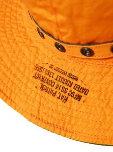 SUGAR CANE × Mister Freedom シュガーケン ミスターフリーダム SC02210 【 6oz. 】 COTTON WEATHER REVERSIBLE DECK HAT [ SEA HUNT ] コットンウェザーリバーシブルデッキハット