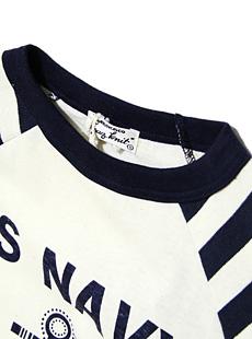 TOPAZ トパーズ TC-3165 RAGLAN SLEEVE B.B.Tee [ US NAVY ] 七分袖ベースボールTシャツ