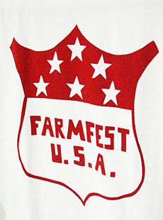 DUBBLEWORKS ダブルワークス 54001FAR-14 3/4 SLEEVE T-SHIRT [ FARMEST ] 七分袖ベースボールTシャツ
