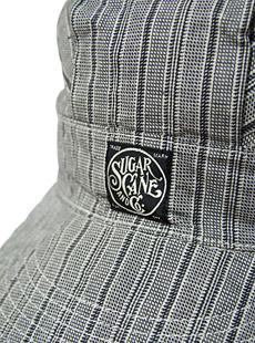SUGAR CANE シュガーケン  FICTION ROMANCE フィクションロマンス SC02207 【 6.5oz. 】 GRAY STRIPE WORK CAP グレーストライプワークキャップ