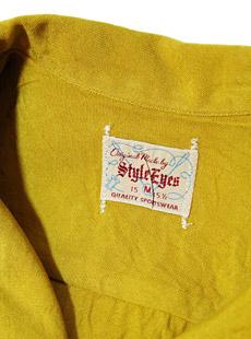 STYLE EYES スタイルアイズ SE36520 RAYON BOWLING SHIRT [ the Jack Club ] 半袖ボーリングシャツ