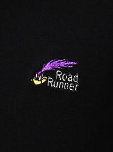 Cheswick×Road Runnerチェスウィック×ロードランナー  CH76607 刺繍入り鹿の子ポロシャツ [ FORK THEM OUT ]