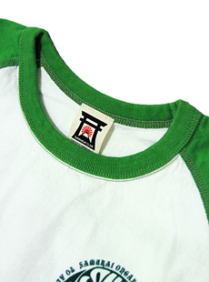SAMURAI JEANS サムライジーンズ SOLT14-101 14番台丸へヴィーウエイト七分袖Tシャツ [ サムライ音楽倶楽部 ]