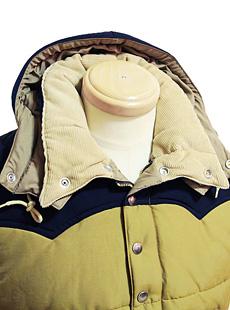 SUGAR CANE シュガーケン SC13092 NYLON/COTTON PADDING JACKET [ W/HOOD ] コットンナイロンパディングジャケット