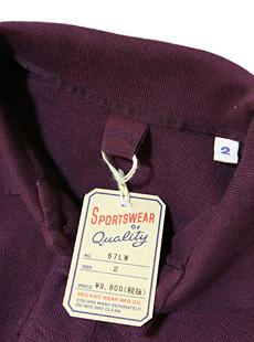 UES ウエス 67LW オリジナル吊り編み鹿の子ポロシャツ