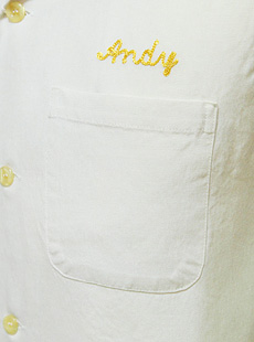 STYLE EYES スタイルアイズ SE36859 半袖ボーリングシャツ [ 7167 SAMS ] ROYON BOWLING SHIRTW/CHAIN EMBD