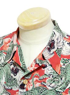SUN SURF SPECIAL EDITION MODEL 【 KALAKAUA 】 サンサーフスペシャルエディションモデル カラカウ SS36986 半袖アロハシャツ [ ONE HUNDRED TIGER ] 百虎