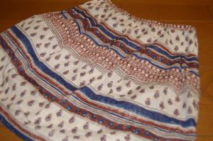 かんたんすっきりギャザースカート