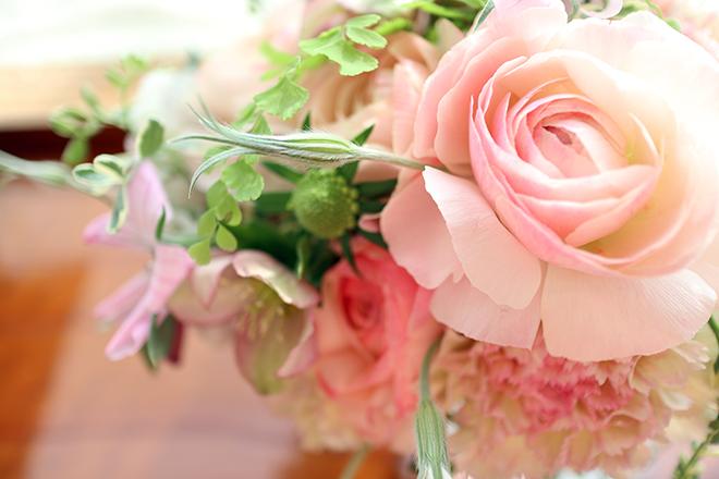ピンクのラナンキュラス|ブーケドマリエ