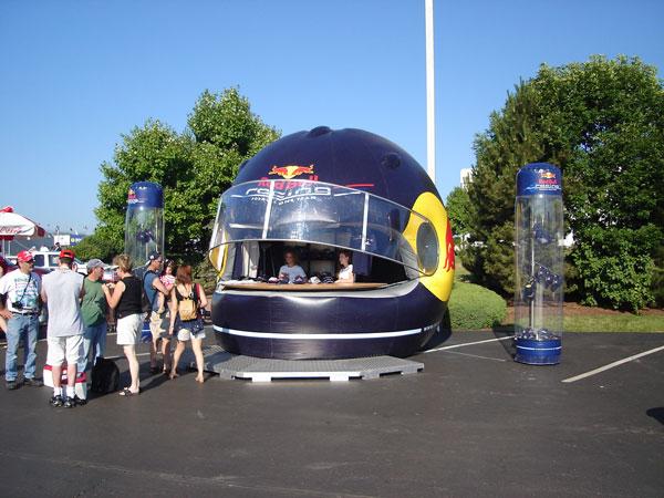 グッズ販売テント Red Bull
