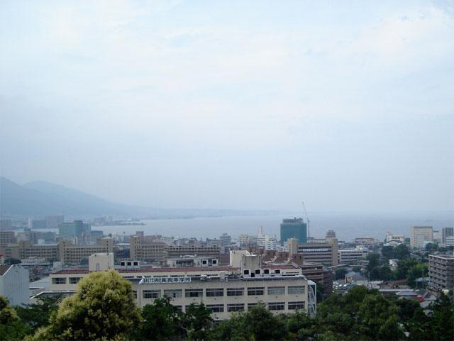 琵琶湖がよく見える!