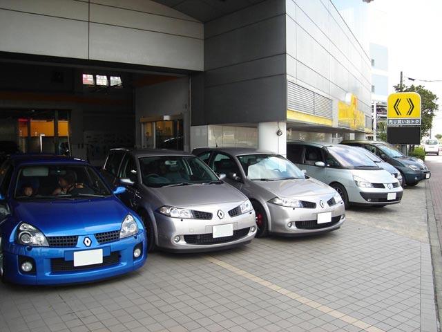 朝一番に「東京有明」集合です