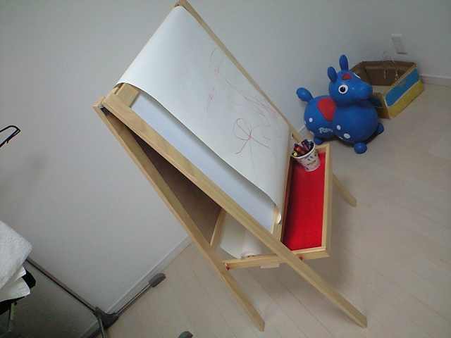 子供のエンドレス落書き板
