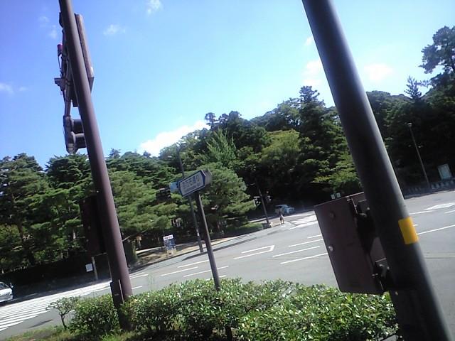 金沢城付近だった気が