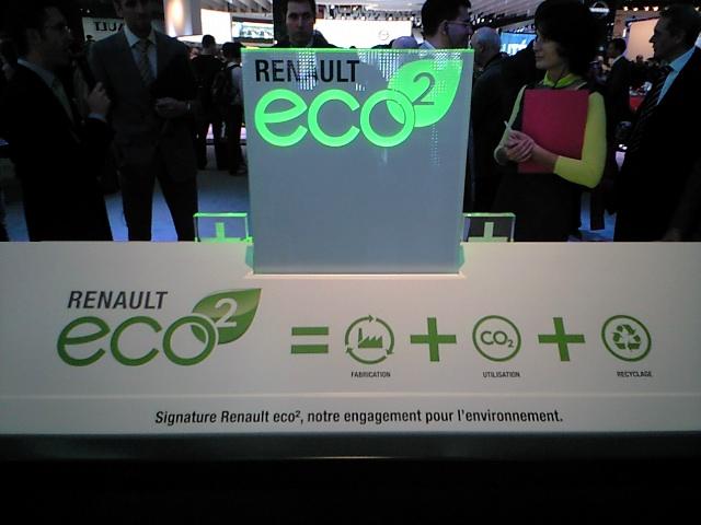 ルノーは「eco2」がテーマです
