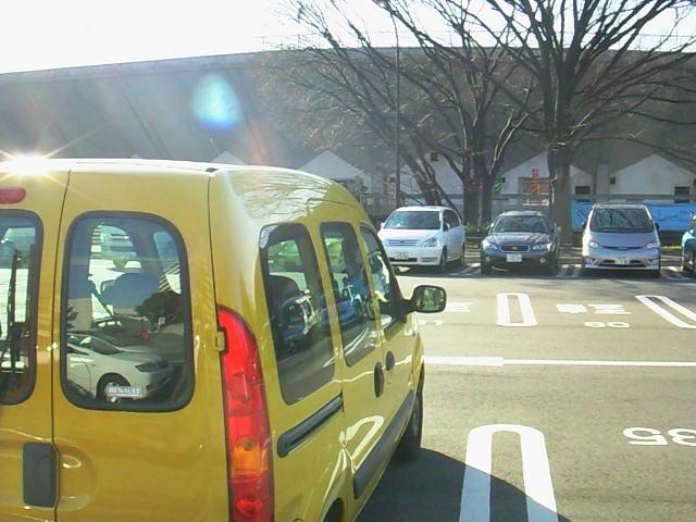 カングーと駒沢公園