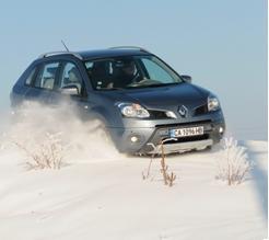雪道でも安心して走れます