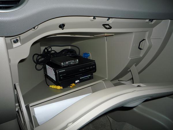 保冷機能付きグローブボックス
