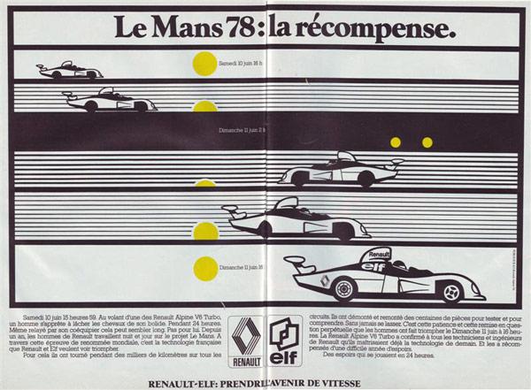 1978年の雑誌広告です