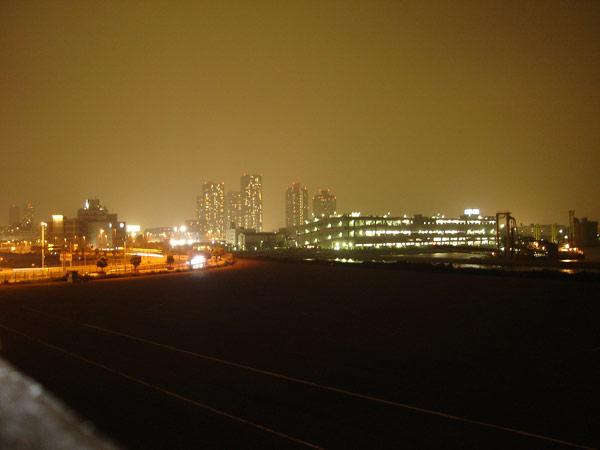 キレイな夜景ですね