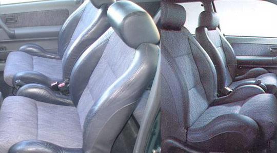 座り心地良さそうなフロントシート