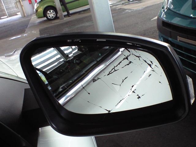 鏡をおっこどした・・・